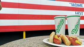 Hot dog champs repeat as July 4 eating contest moves indoors