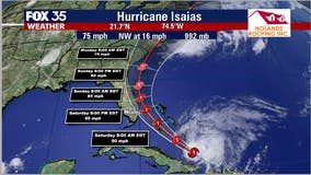 Hurricane Isaias draws closer to Florida, Hurricane Watch issued for Brevard County