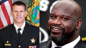 NBA legend Shaquille O'Neal endorses Sheriff John Mina for re-election