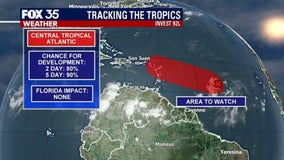 Developing system in Atlantic likely to become Tropical Storm Isaias, NHC forecasts