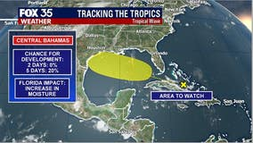 Tracking the Tropics: FOX 35 meteorologists monitor 2 'areas to watch'