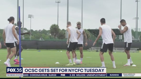 Orlando City gets set for NYCFC on Tuesday