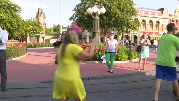 Here's an inside look at Magic Kingdom, Animal Kingdom on reopening day