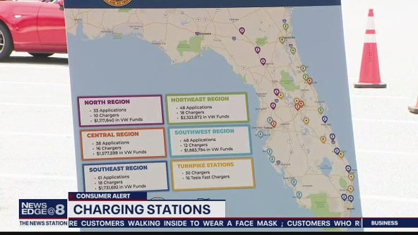 Charging stations coming to Florida roadways
