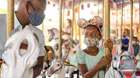 These are the only types of face masks allowed at Disney World