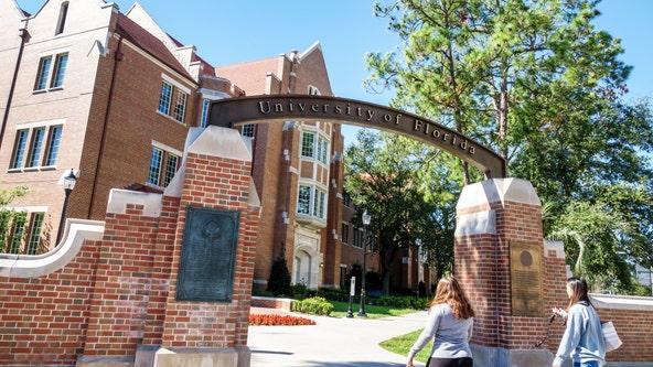 Shots heard by police near University of Florida, school says