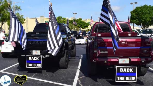 'Red, White and Back the Blue' event honors local law enforcement