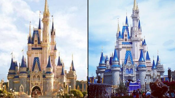Cinderella's Castle has a fresh new look for Disney's reopening