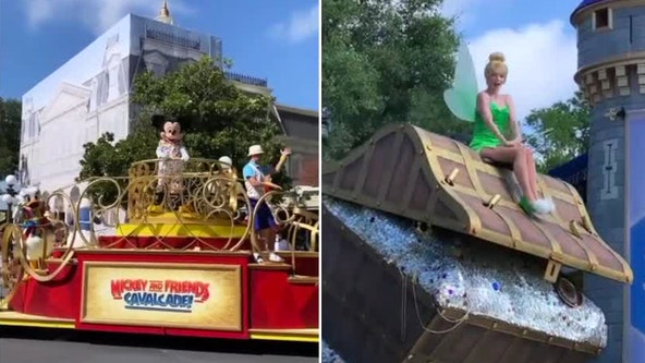 Dress rehearsal performed for Disney cast members ahead of official reopening