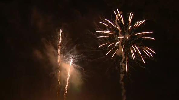 City of Eustis holds fireworks show with audience