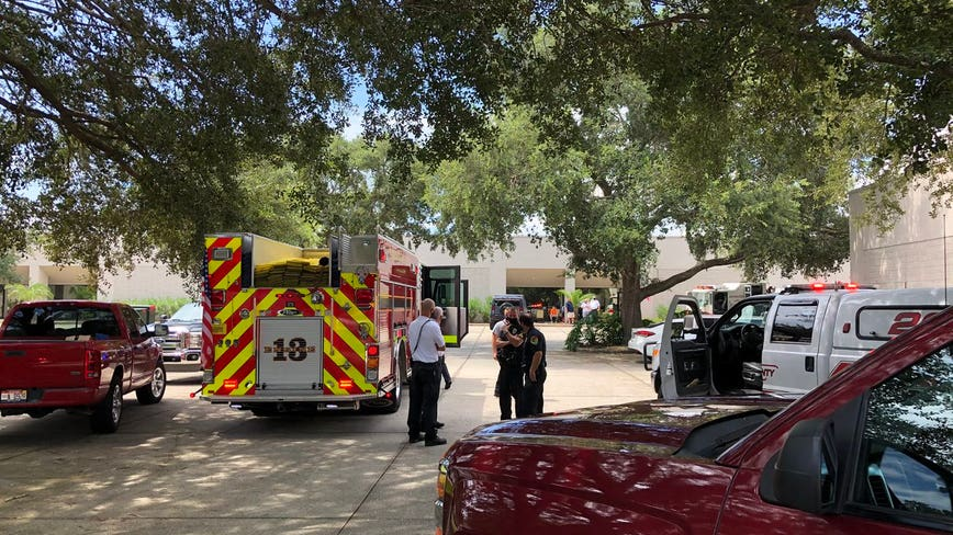 1 person injured with burns after explosion in Titusville, fire officials said