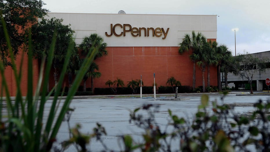 A JC Penney store that was temporarily closed due to the