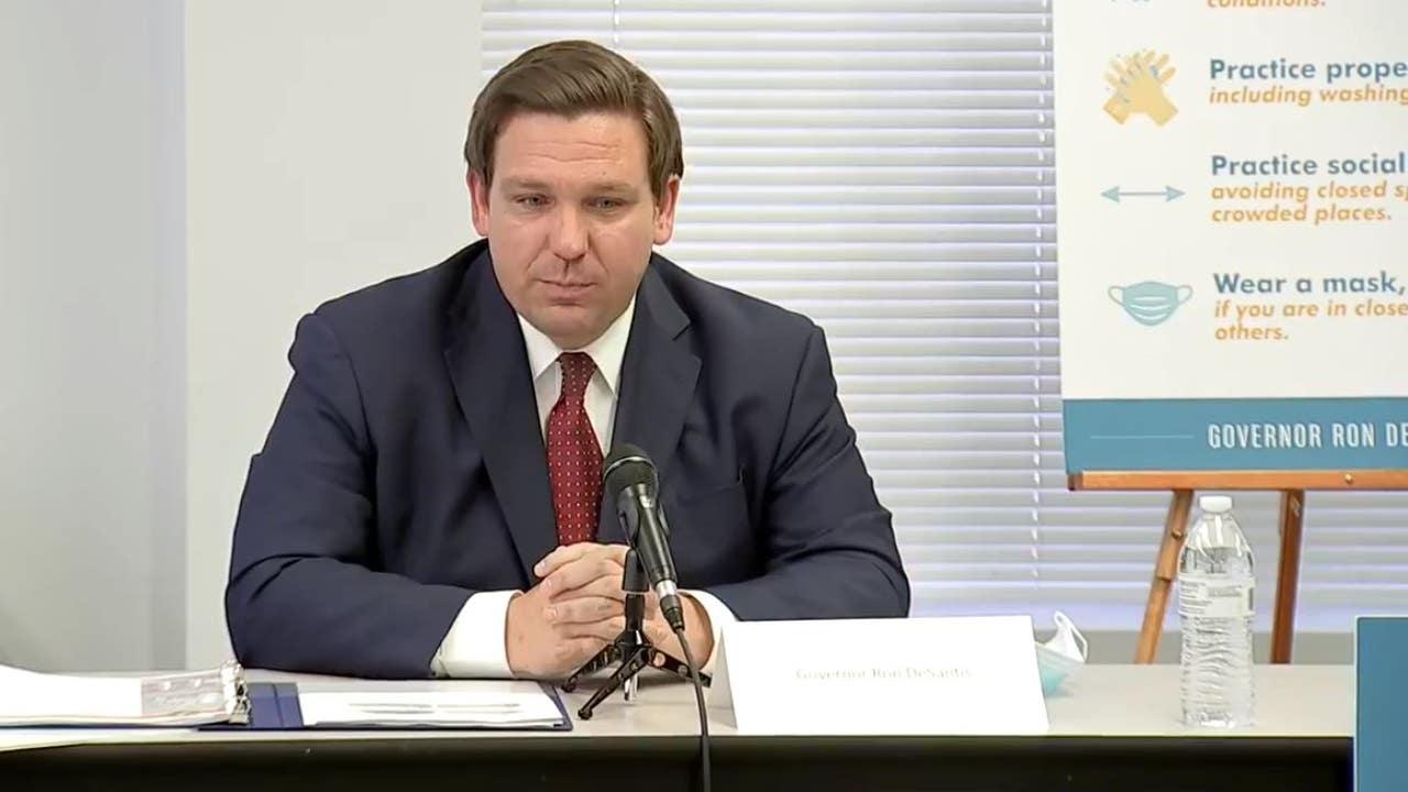 Gov. DeSantis signs bill requiring 'moment of silence' in schools