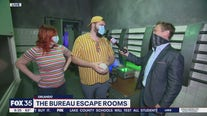 The Bureau escape rooms
