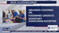 FOX 35 teams up with Salvation Army in back-to-school drive