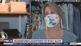 Businesses adapting to stay alive