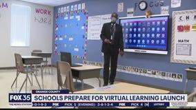 Schools prepare for virtual learning