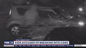Kids accused of breaking into cars in Ocala