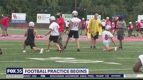 High school football practice allowed to begin