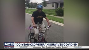 100-year-old veteran survives COVID-19