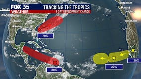 FOX 35 is monitoring 4 systems developing in the tropics