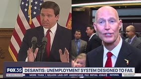 DeSantis says he was left with unemployment system designed to fail
