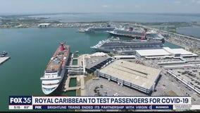 Royal Caribbean to test passengers for COVID-19