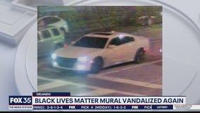 Orlando's Black Lives Matter mural vandalized again