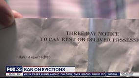 Some receiving notices even though eviction ban still in place