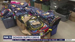 School supply drive for families in need