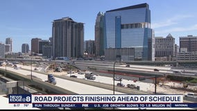 Road projects finish ahead of schedule