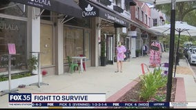 Smaller businesses struggling to survive during pandemic