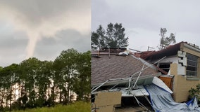 NWS: EF-2 tornado caused significant damage in DeLand on Tuesday; EF-0 tornado strikes Orange City
