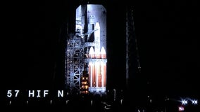 Launch of ULA Delta IV Heavy rocket aborted at 3-second count