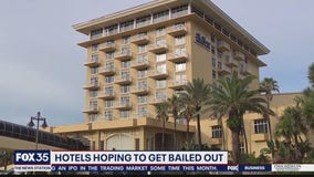 Hotels hoping to get bailed out