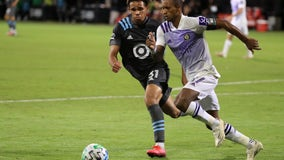 Nani has 2 goals and Orlando holds off Minnesota 3-1