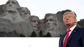 Trump denies suggesting adding his face to Mount Rushmore, but calls it 'a good idea'