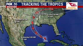 Hurricane Laura forms, expected to strengthen significantly and make landfall as Category 3 hurricane