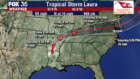 Laura weakens into a tropical storm after lashing Louisiana, taking at least 4 lives