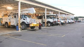 Ready to help, over a hundred TECO workers head to Louisiana storm zones