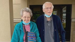 Minnesota couple in their 90s celebrates after beating COVID-19