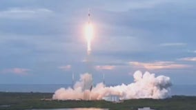 Liftoff! SpaceX successfully launches Falcon 9 rocket after scrubbed morning launch