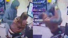 Police search for man suspected of attacking female clerk at Central Florida convenience story