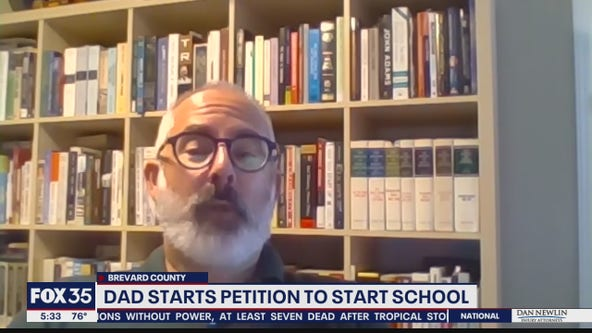 Florida father starts petition to push for in-person learning
