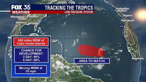 Tropical wave moving west likely to develop into tropical depression, NHC says