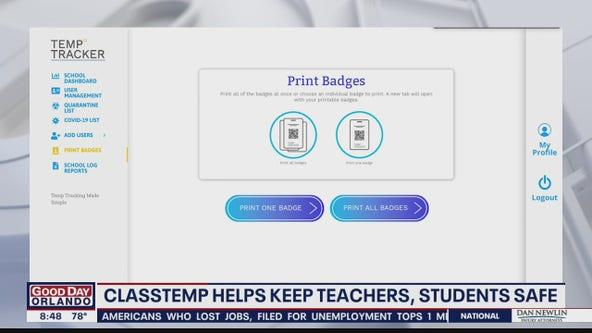 ClassTemp helps keep teachers, students safe