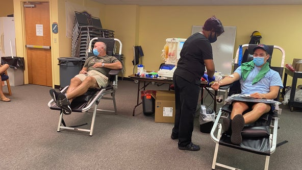 Orlando firefighters donate plasma after COVID-19 outbreak in their department
