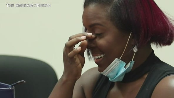 Paying it Forward: Orlando church surprises woman who's always looking out for others