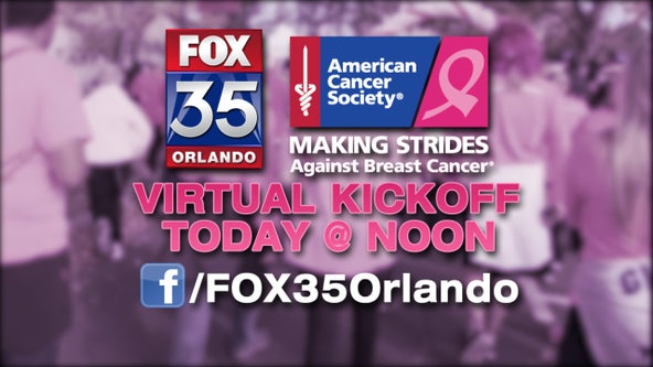 American Cancer Society's 'Making Strides Against Breast Cancer' event kicks off virtually on Tuesday
