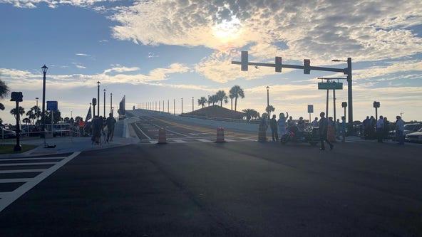 $46 million Veteran's Memorial Bridge opens in Daytona Beach, 'we thank them for all they've done'